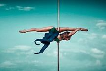 Pole Inspiration / Get inspired, get motivated, have fun and stay sexy! Pole dancing is my favorite activity next to eating!! I love learning new tricks, dancing and challenging my body's strength, balance and awareness.
