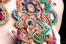 Beads Jewellery/Artworks / What amazing work with beads!!!