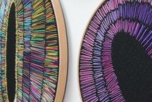 Cross stitch, Embroidery Jewellery/Artworks / Fantastic works!