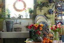 kitchens / http://shabbyinlove.blogspot.it