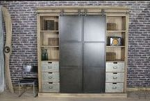 Vintage Inspired Items & Industrial Style Furniture