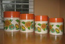 Very VTG Kitchen Yellow, Orange & Green / by Jobie Lyne Christy