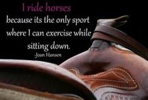 Horses!!!! / Tack ideas and horse things!  / by Stephanie LoCascio
