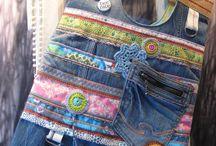Leuke ideeetjes opdoen ... / Wat kan je allemaal doen met een oude spijkerbroek  , zoveel leuke ideetjes gevonden .
