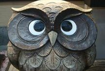 """Owl Be Around... / """"A wise old owl sat on an oak; The more he saw the less he spoke; The less he spoke the more he heard; Why aren't we like that wise old bird?"""""""