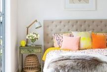Trend: Pops Of Colour / Pops of Colour Trend for 2015