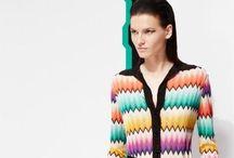 Missoni / Missoni est pour ceux qui aiment tenues colorées et créatives sans sacrifier une sensation vinage et un style raffiné.