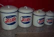 Very VTG Kitchen Pepsi-Cola / by Jobie Lyne Christy