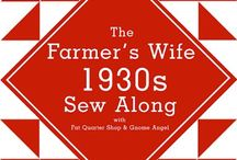 FQS Farmers Wife 1930's Sampler Quilt sew along - my blocks / These are my blocks that I have made so far for the FQS Farmer's Wife 1930's Sampler Quilt sew along. The sew along was started in October 2015 & will go for 12-months.