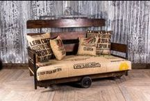 Original Vintage & Industrial Furniture / Our collection of original vintage and industrial items of furniture. Seating, tables, storage and a whole range of other fantastic items!