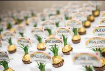 Bleed Green and Gold / Lanai High and Elementary School Grad Party Ideas
