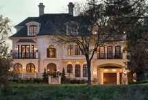 Stunning Homes / Here are some stunning home designs including beautiful beachfront properties, sprawling ranches and rockstar mansions, old English style country houses and cottages and modern loft apartments. This board contains some of my favorite and most inspiring dream homes. / by Elize Amornette