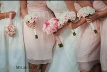 Perfect Pink Weddings / Whether it's a modern hot pink or soft blush pink, pink is still a firm favorite with brides.