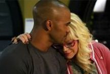 Kirsten Vangsness & Shemar Moore / You may know them as Penelope 'Baby Girl' Garcia and Derek 'Chocolate Thunder' Morgen from Criminal Minds ;)