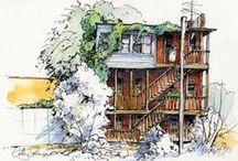 Art -- Journal / Sketch / Watercolor / by Felicia H