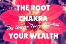Root Chakra {Abundance} / You are worthy and deserving of abundance in your life. #rootchakra #chakras #everydaychakras