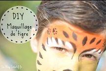 Maquillage enfant / Comment faire des maquillage enfant, mes astuces et conseils, et des exemples de maquillages pour le Carnaval, MardiGras les anniversaire ou la kermesse de l'école !  #Maquillage #tigre #Maquillage #Spiderman #Maquillage #Princesse #Enfant #Tutorials