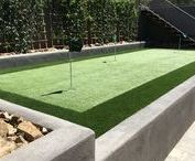 Sport Lover's Paradise / See sport area ideas using artificial grass.