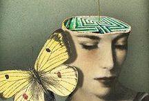 -SOLANGE GAUTIER- /                    -COLLAGISTE- -Les collages de Solange Gautier baignent dans une rêverie sans limites dotée d'un humour - parfois nostalgique - et d'une grande finesse. Katharina Kolb.             http://solange-gautier.photoshelter.com/index