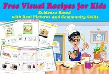 Free Visual Recipes Resources / Download our free evidence based visual recipes, real picture recipes with community skills to teach your kids how to cook