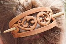 Hajcsat, kontycsat / #hajcsat #kontycsat #hajdísz #hajtű #haj #divat #fa # faragott #nő #women #fashion #hair #barrette #carved #wooden