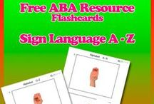 Free Flashcard Resources / Free Flashcards that promote learning and language building. Strengthen communication skills when teaching children with autism spectrum disorders through evidence based ABA Programs.