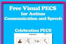 Free PECS / The Picture Exchange Communication System, or PECS, allows children with autism who have little or no communication abilities, a means of communicating non-verbally.