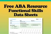 Free Data Sheets / Able2learn has prepared easy to use data sheets that have broken the skill down in easy to follow steps. Pair the program  with Able2learn Token Boards, Vocabulary Cards and Other Resources.