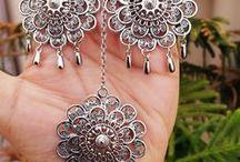 Tribal Jewellry / German Silver, Indo Western, tribal, banjara, jewellry, accessories, afghani, oxidized