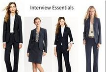 Wear @ an Interview - Women / by Pomerantz Career Center