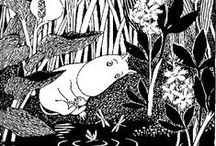 Moomins…! / Adorable & lovable Finnish critters.