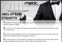 ECIGS DO'S & DONT'S / Everything about #ecig etiquette, where and how to #vape / by Mistic Ecigs