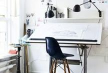 In the studio / - Art - Work Places - Tools - Beauty -