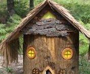 Casas Hobbit - Wooden Houses / Casas de madera - Chill out areas
