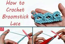 CROCHET: Stitches- Broomstick Lace / Crochet Stitches- Broomstick Lace / by Lady Katie