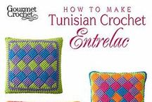 CROCHET: Stitches- Entrelac / Crochet Stitches- Entrelac / by Lady Katie