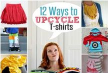 CREATIVE: Clothing Upcycling- T-Shirts / by Lady Katie
