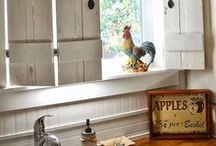 Home Decor: Country Living / Turn your humble abode into a cozy, rustic space!