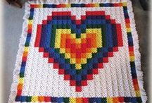 CROCHET: Blankets- Picture/ Pixel Quilts / CROCHET: Picture/ Pixel Quilts / by Lady Katie