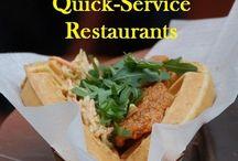 Quick Service Dining / Walt Disney World Quick Service Dining