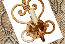 Home - Sconces, Lanters and Chandeliers / by Enjoying Interior Design & Travels