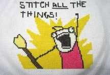 Cross stitch all the things!