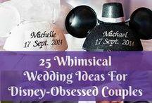 Disney Weddings / Planning a Disney themed wedding? Look no further!