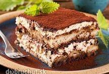 RECEPTY SLADKÉ DOBROTY / Zákusky, moučníky, dorty, koláče, buchty... zkrátka sladká jídla! / by Aladis