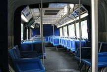 MTA Bus and Subway / Is it the bus? Is it the subway? these are all buses and subways we help people get access to.
