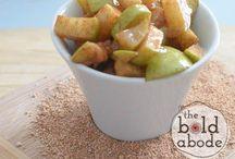 Cinnamon apples / Desserts