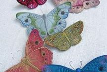 butterflies of different