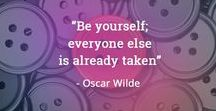 Word To The Wise #Quotes / Inspirational to witty - words worthy of pinning - phrases worthy of pondering,