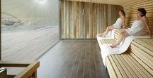 Saunan lauteet - Sauna benches - saunologia.fi / http://saunologia.fi - Inspiration for sauna bench design - ideoita saunan lauteisiin