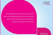 Customer Testimonials / Customers sharing their experience with Colaz laser hair removal